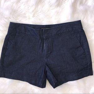 Banana Republic Hampton Fit Denim Blue Shorts 2